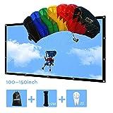 150 inch Portable Projector Screen Outdoor 16:9