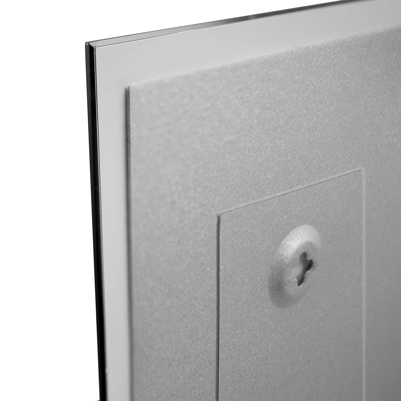 Memoboard beschreibbar BANJADO Design Glas-Magnettafel 40x60cm gro/ß Magnetboard mit Motiv Wunschmotiv Magnetwand mit 4 Magneten