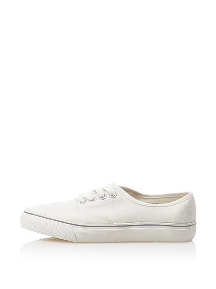 Springfield Zapatillas Básicas Blanco EU 36: Amazon.es: Zapatos y complementos