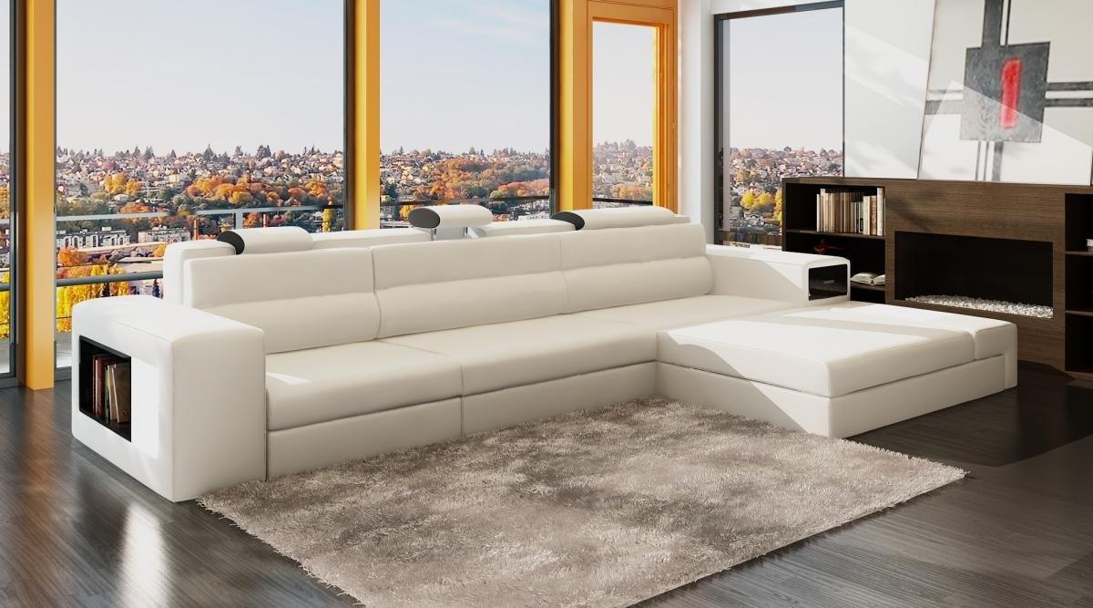 Prime Amazon Com Polaris Mini Bonded Leather Sectional Sofa In Machost Co Dining Chair Design Ideas Machostcouk
