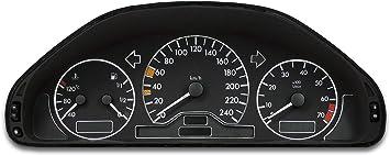 Tachodekorset Chrom Für Benz C Klasse W202 Vor Und Nach Facelift 1993 2000 Auto