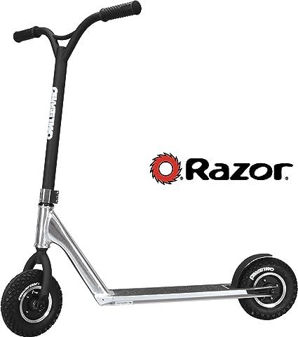Amazon.com: Razor Phase Two Dirt Scoot Pro - Patinete ...