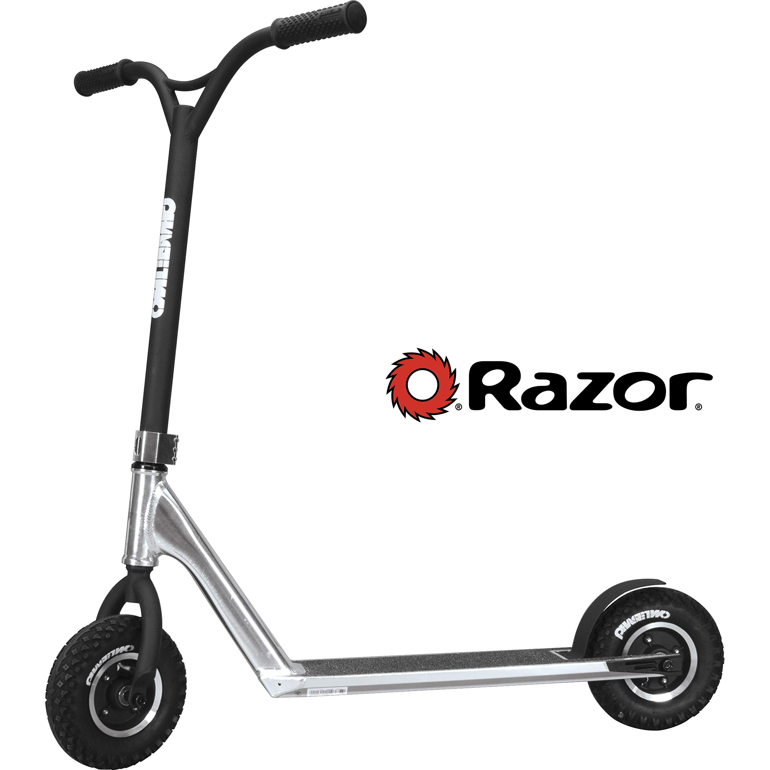 Razor Phase Two Dirt Scoot Diamond Edition Scooter - Silver by Razor