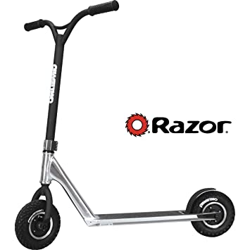 Amazon.com: Razor Phase Two Dirt Scoot Pro - Patinete ...