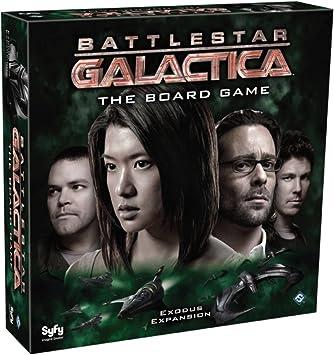 Battlestar Galactica - Expansión Éxodo, Juego de Mesa (Edge Entertainment EDGBG03): Amazon.es: Juguetes y juegos