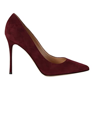 SERGIO ROSSI FEMME A43842MCAZ016126 ROUGE VELOURS ESCARPINS iW1YD
