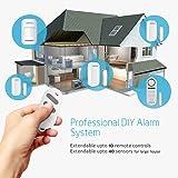 BIBENE Door Alarm System Home Security DIY Kit, 4