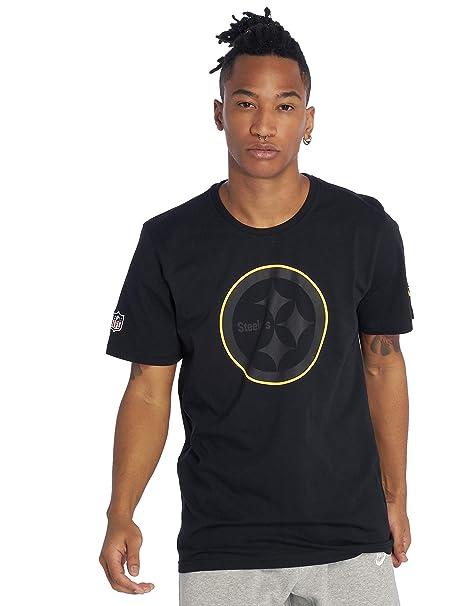 New Era Men T-Shirts NFL Pittsburgh Steelers  Amazon.co.uk  Clothing 63a5bf4e5