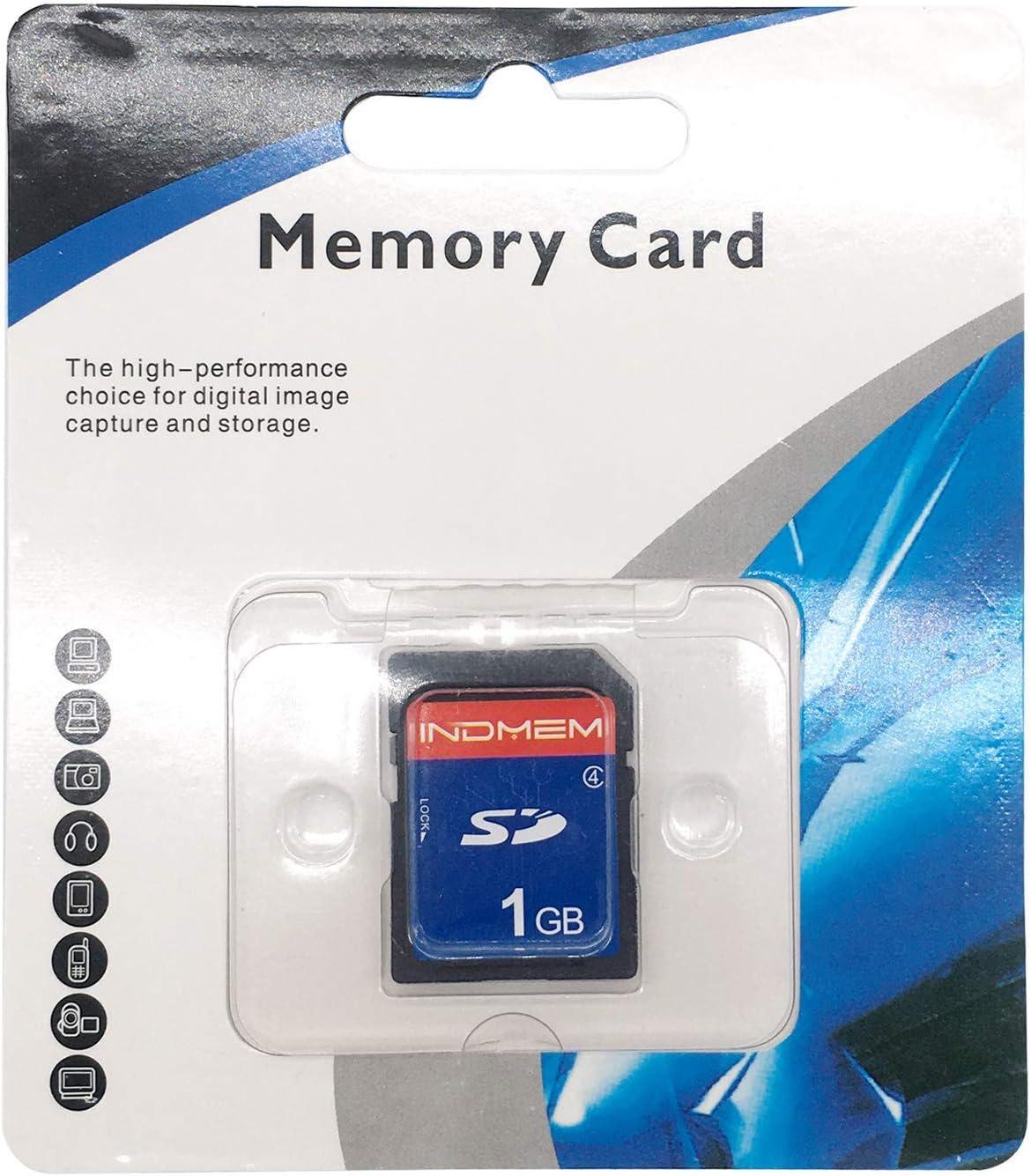 Indmem Sd Card 1gb Slc Secure Digital Flash Memory Card Computers Accessories