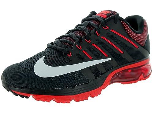 uk availability d77e9 3bcbd Nike Air MAX Excellerate 4 - Zapatillas de Running para Hombre, Negro/Rojo/