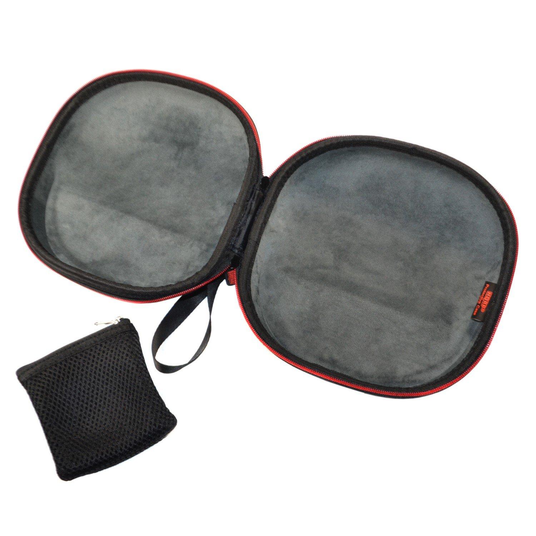 61fd3b7ced8 Amazon.com: HQRP Hard Case for Audio-Technica ATH-AD700, ATH-M20x, ATH-M30x,  ATH-M35, ATH-M40x, ATH-M50, ATH-M50x, ATH-M70x Headphones Plus HQRP UV  Meter: ...