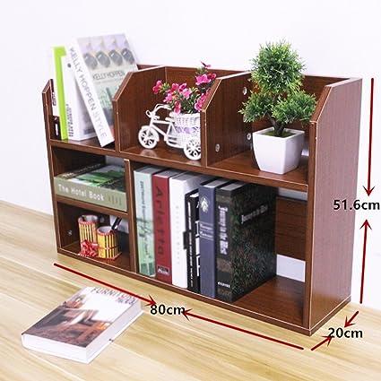 Bookshelf Bookcase European On The Table Small Desk Shelf Child Storage Rack Household Living