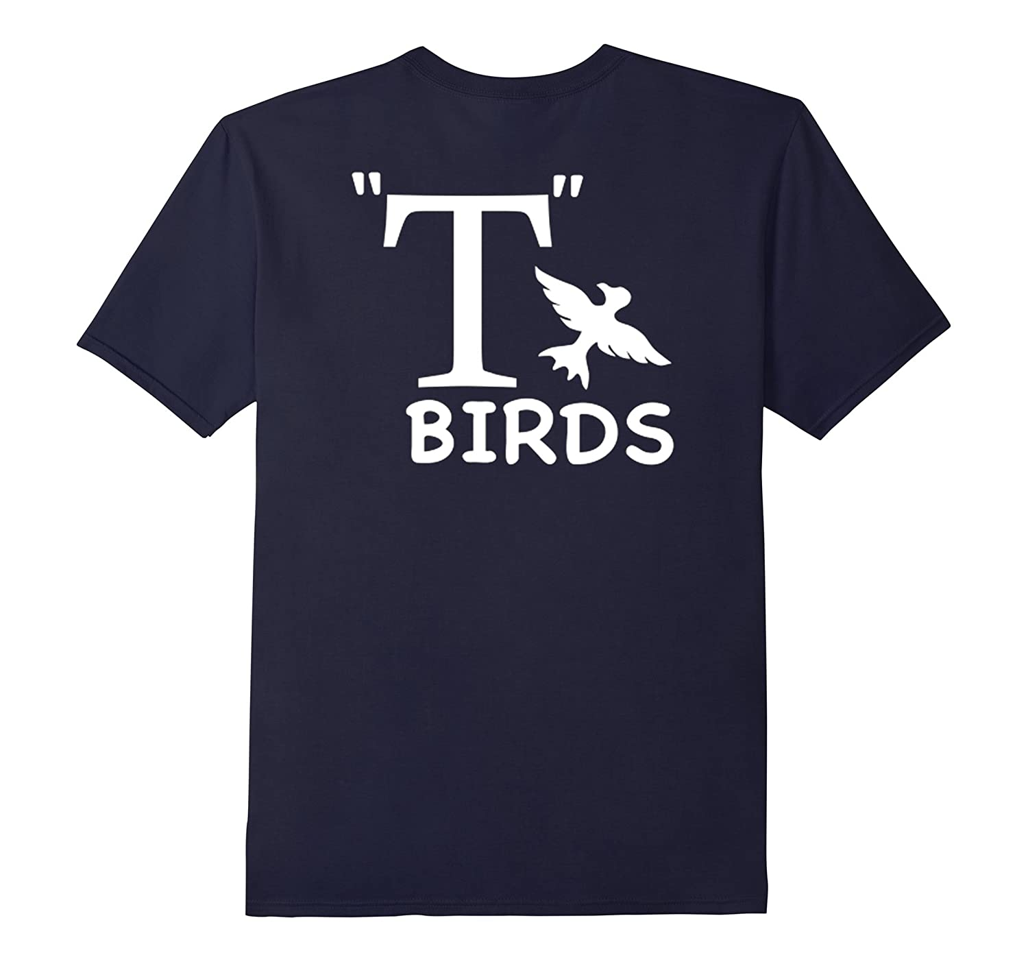 T- Birds Grease Movie Themed Back Print Tshirt | Rydell High-FL
