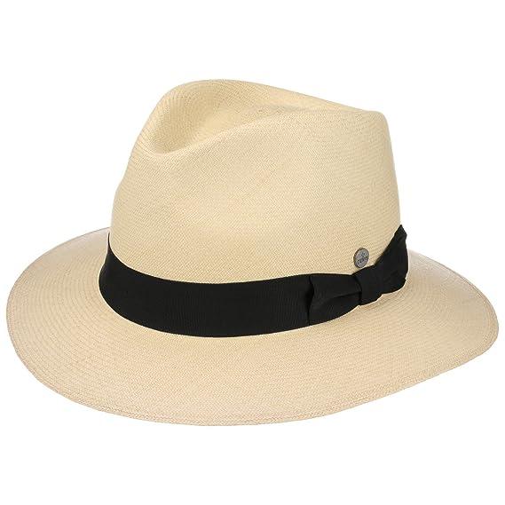 Lierys Montecristi Traveller Panama Traveller Hat Panama Hat  Amazon ... abb56d8fc332