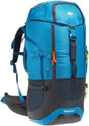 Quechua Hiking Camping Water Repellent Backpack Rucksack Forclaz 60L