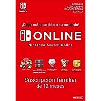 Switch Online Suscripción Familiar de 12 Meses |