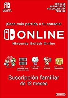 Nintendo Switch Online - 12 Meses   Nintendo Switch - Código de descarga: Amazon.es: Videojuegos