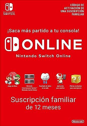 Switch Online Suscripción Familiar de 12 Meses | Nintendo ...