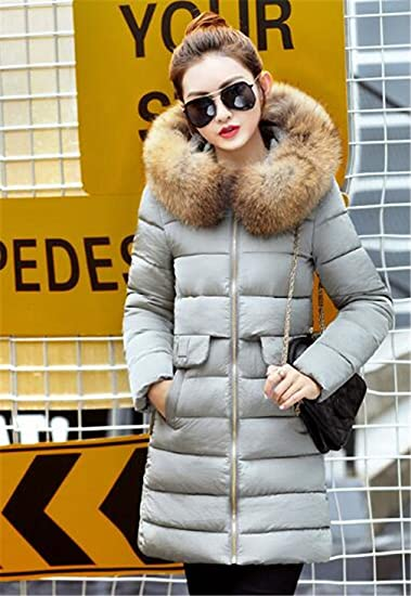 Amazon.com: Womens Parka Winter Jacket Casacos De Inverno Feminino Thickening Cotton Hooded Parka For Winter Coat Chaquetas Mujer: Sports & Outdoors