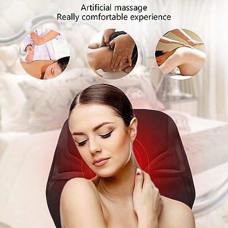 Amazon.com: Amasado de calor electrico cojín de masaje ...