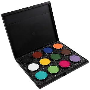 Mehron Makeup- Paradise Makeup AQ ProPalette - 12 Colors