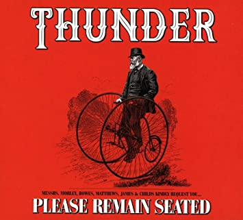 Risultati immagini per thunder please remain seated