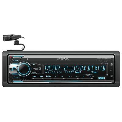 Kenwood KDC-BT772HD Single-DIN Bluetooth CD AM/FM HD Radio SiriusXM-Ready Car Audio Receiver: Electronics