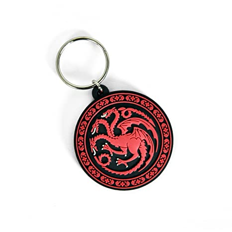Game Of Thrones Llavero Keychain House Targaryen Oficial ...