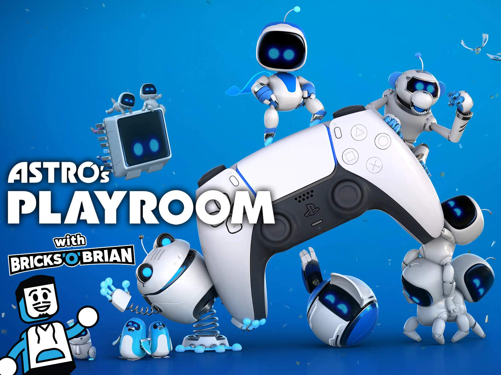 Clip: Astro's Playroom with Bricks 'O' Brian! on Amazon Prime Instant Video UK