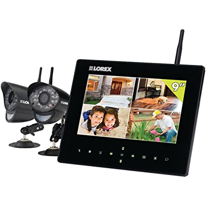 amazon com lorex lw2932 9 inch lcd with integrated sd recording