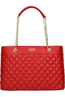 70e7bc0865ac Amazon.com  LOVE Moschino Women s Quilted Shoulder Bag Chain Strap ...