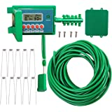 Yardeen Micro Automatic Drip Irrigation Kit Self Watering System Sprinkler Controller for Indoor Potted Plants Color…