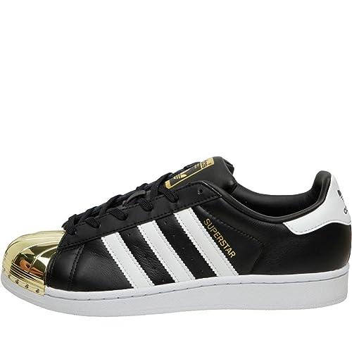 Donna Adidas Originals Superstar Scarpe da ginnastica in pelle Taglia UK 5.5 EU 38.7