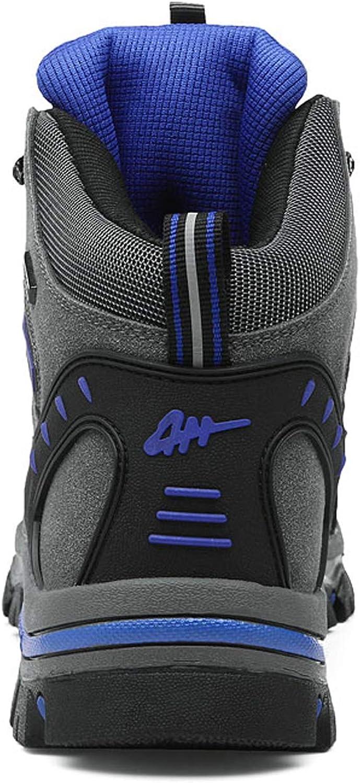 WOWEI Chaussures de Randonnée en Plein Air Imperméable Respirant Antidérapant Bottes de Trekking Promenades Voyages Sneakers pour Femme Hommes Style 2