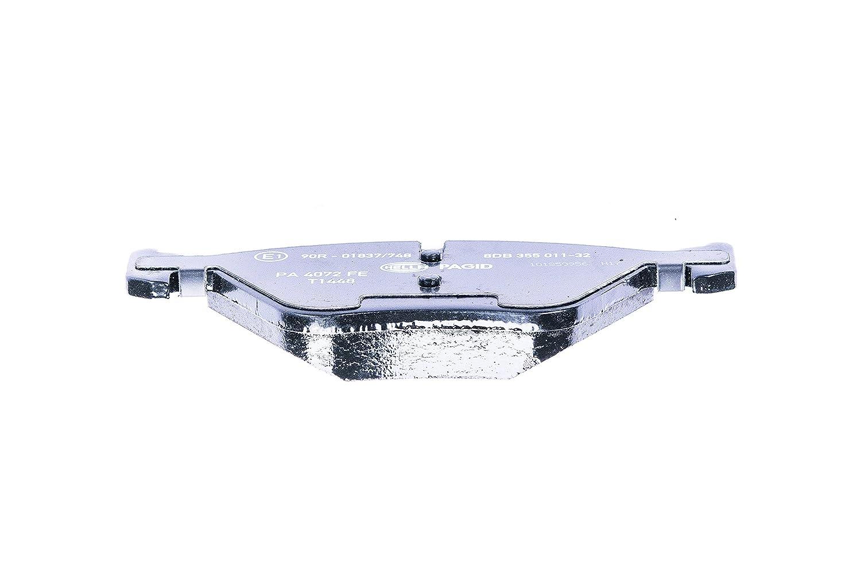 Essieu avant frein /à disque HELLA PAGID 8DB 355 011-321 Kit de plaquettes de frein