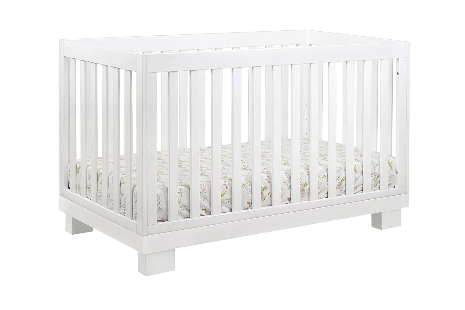 Amazon com babyletto modo 3 in 1 convertible crib with toddler bed conversion kit white baby