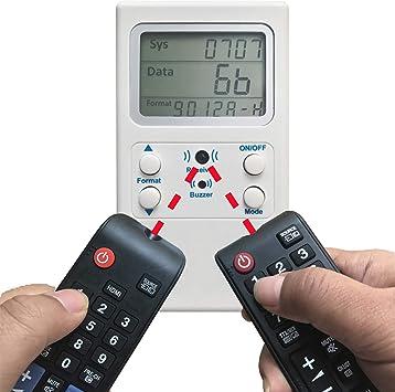 Generic Universal TV decodificador de Control Remoto IR Control ...