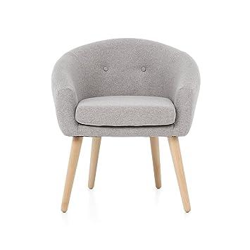 Myhomery Milo Lounge Sessel Gepolstert Polsterstuhl Für Esszimmer