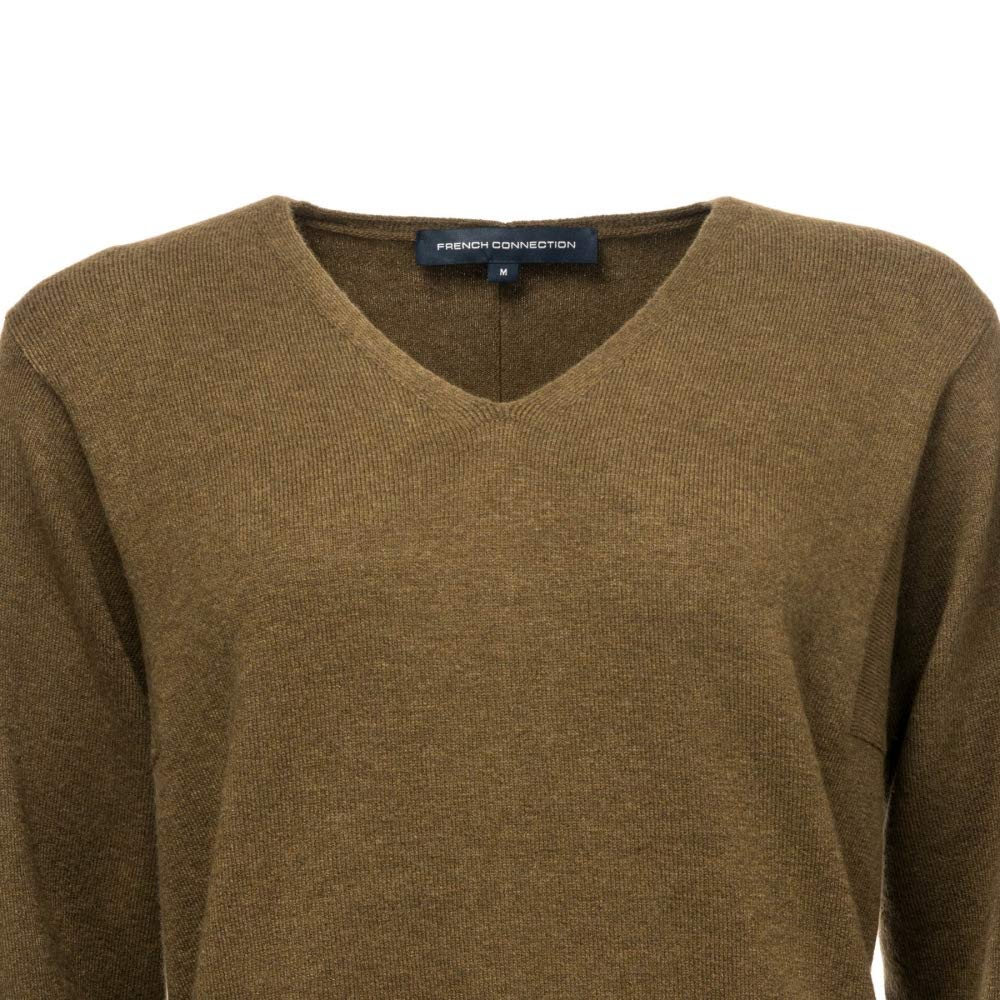 French Connection Ebba Vhari V Neck Womens Jumper