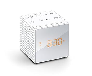 bc35c68caf3 Rádio Relógio Icf-c1 Sony Fm am Branco Novo! Importado!  Amazon.com ...