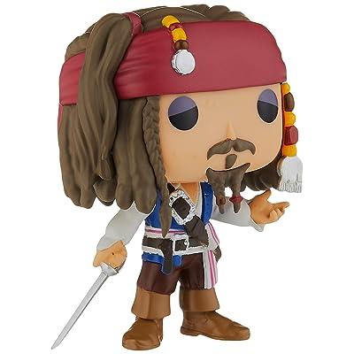 Funko Pop Disney: Pirates-Jack Sparrow Action Figure: Funko Pop! Disney:: Toys & Games