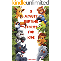 Books for Kids: 5 Minute Bedtime Stories For Kids: Preschool Books, Ages 3-5, Baby books, Kids book, Early learning, Beginner readers