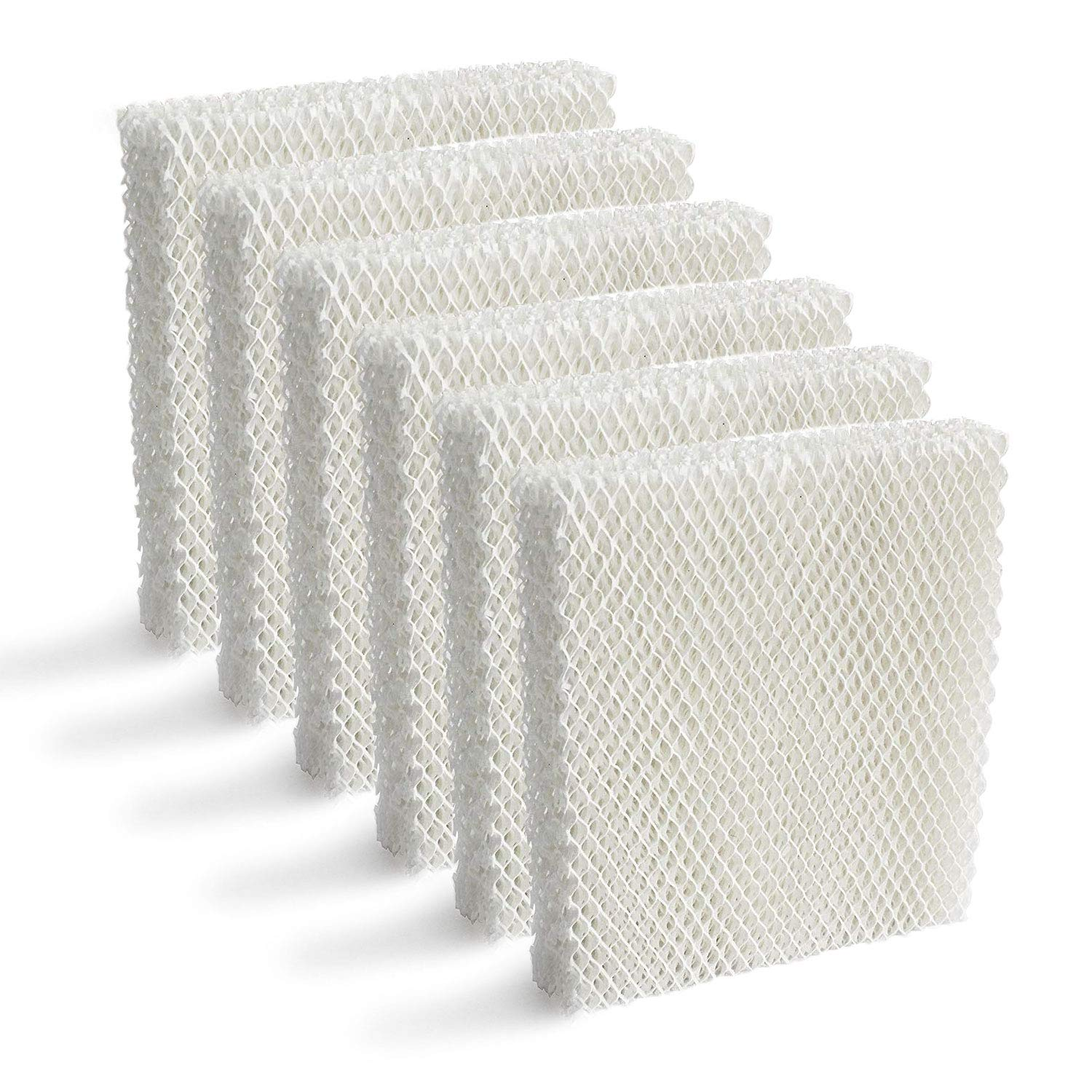 Lemige 6 Pack Humidifier Wicking HFT600 Filters T Compatible with Honeywell Tower Humidifier HEV615 HEV620, Compare to Part HFT600T HFT600PDQ by Lemige