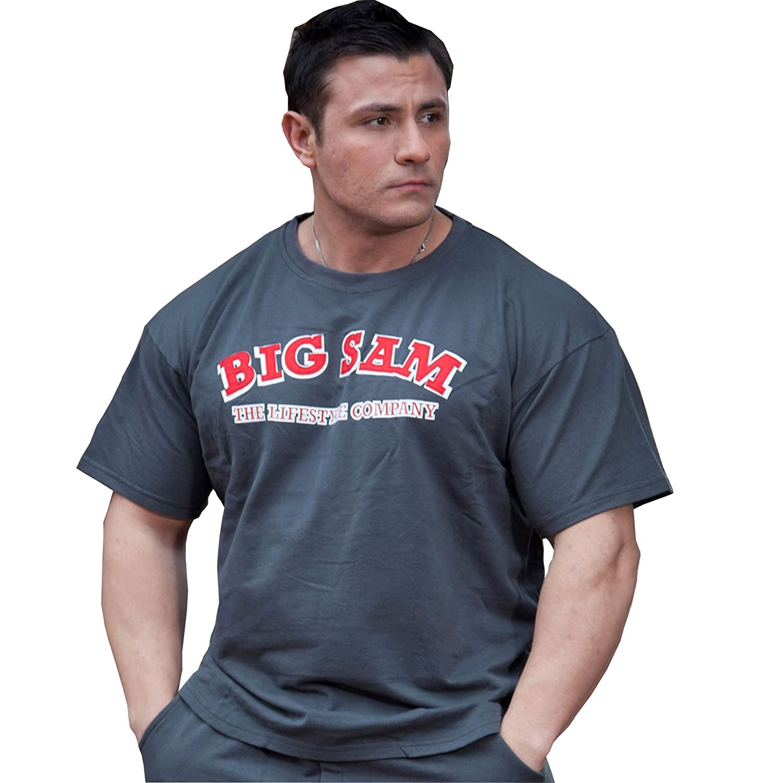 BIG SM EXTREME SPORTSWEAR Herren Ragtop Rag Top Sweater T-Shirt Bodybuilding 3110