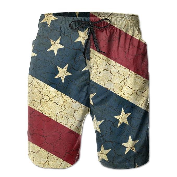 Amazon.com: zq-south de los hombres la bandera americana ...