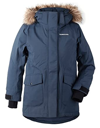 9c4e47092ff7 Didriksons Sassen Girls Parka  Amazon.co.uk  Clothing