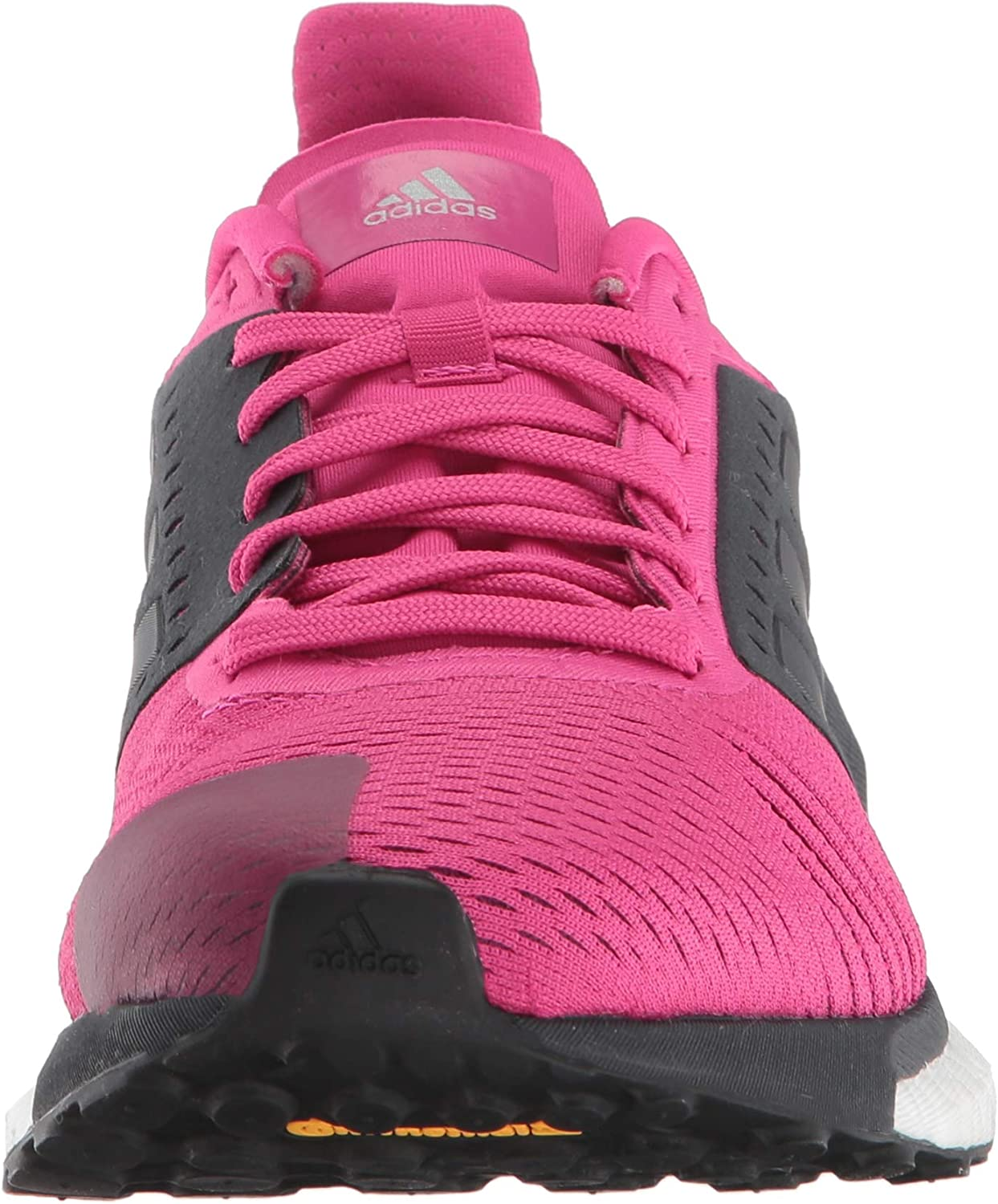 adidas Originals Women's Solar Glide ST Running Shoe Real Magenta/Carbon/White