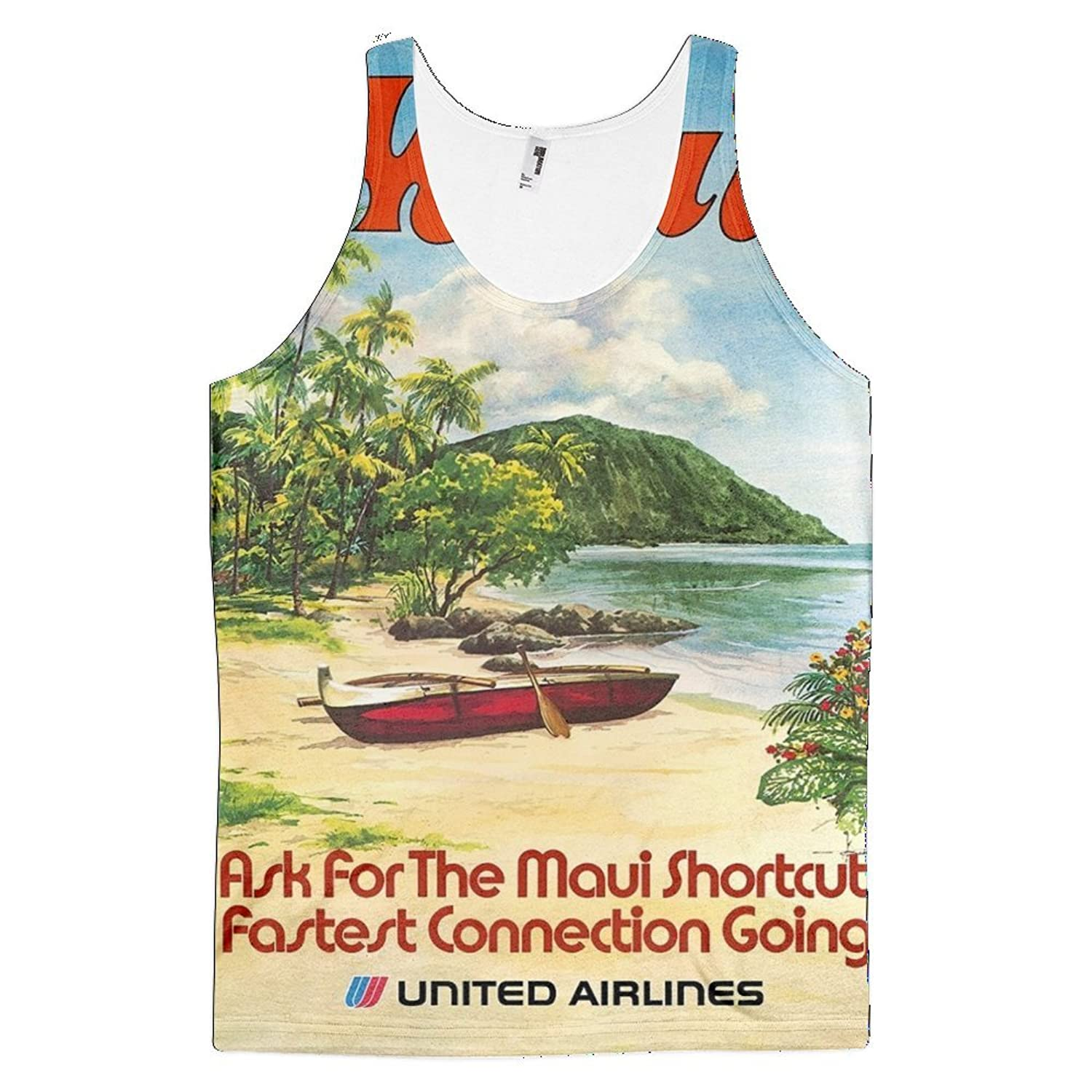 Vintage poster - Maui - All-Over-Print Tank-top