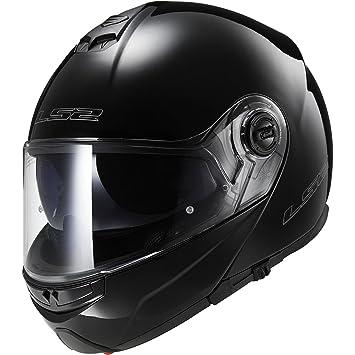 Casco de la motocicleta LS2 FF370 Fácil Motocicleta front flip Racing Casco, talla L,