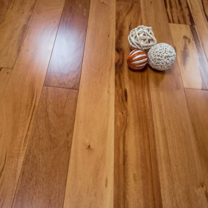 Tigerwood Prefinished Engineered 5 X 12 Wood Flooring Samples W